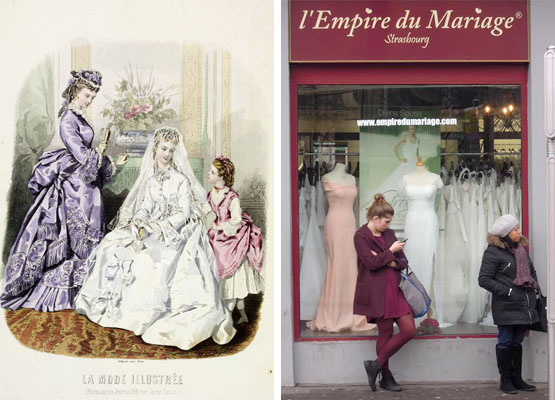 Mariages à La Française - Shifts in a Cultural Grammar - Global Fashion Street