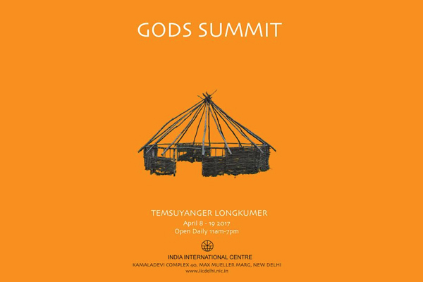 At the Gods Summit by Temsuyanger Longkumer that depicts the predicament of what humanity has done to itself - Global Fashion Street