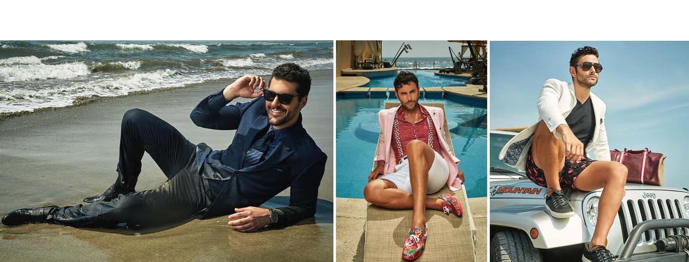 Brazilian Fashion Photographer Stefano Raphael shoots for Aldo Conti Summer '17 Cotton Collection for Men