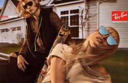 Steven Klein Shoots the Latest 2017 Campaign for Ray-Ban- Exclusive Sneak Peek