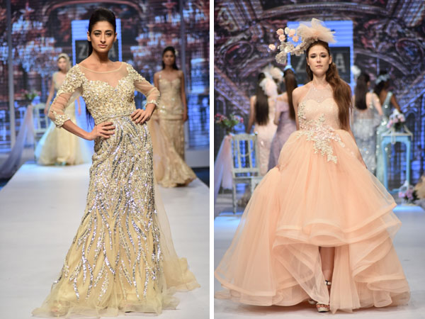 ZAMA by ANJALI SAHNI presents Evening and Bridal gowns at Asian Designer Week 2017 - Global Fashion Street