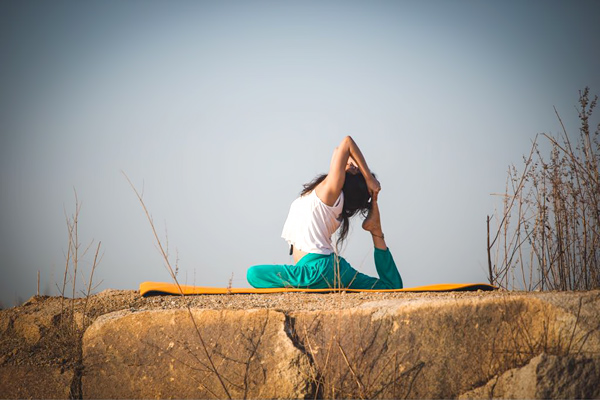 A road to spiritual and physical healing- Rajakapotasana or King Pigeon Pose - Global fashion Street