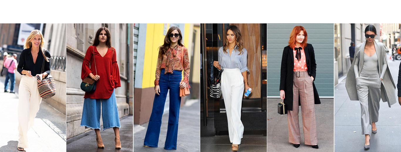 Embracing Wide Leg Pants in 2018 – Outfit Ideas