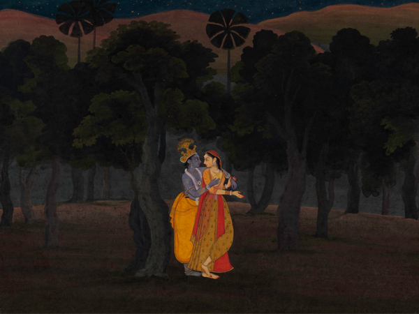 Early 17th Century Pahari Paintings of India at The Metropolitan New York - Global Fashion Street