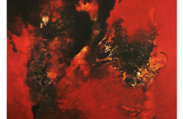 INDELIBLE MARK a solo show of paintings by UTTAM CHAPTE