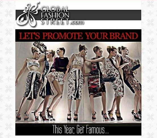 Advertise with Us - Global Fashion Street